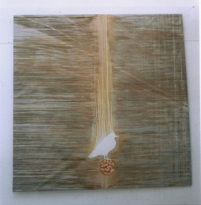 painting bird walnut 1