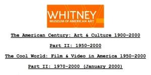 Whitney cool world